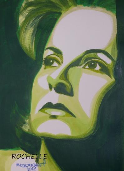 Greta Garbo par Rochelle